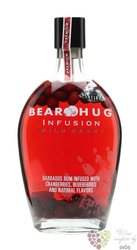 "Bear Hug "" Wild Berry "" flavored American rum 21% vol. 1.00 l"