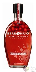 "Bear Hug "" Cranberry "" flavored American vodka 21% vol. 1.00 l"