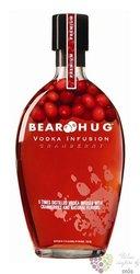 """Bear Hug """" Cranberry """" flavored American vodka 21% vol. 1.00 l"""