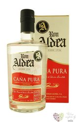 "Aldea "" Cana Pura "" 2012 ltd. edition of la Palma rum 42% vol.   0.70 l"
