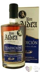 """Aldea """" Tradicion """" 1991 aged 22 years ltd. edition of la Palma rum 43% vol.  0.70 l"""