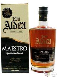 """Aldea 2006 """" Maestro """" aged 10 years ltd. edition of la Palma rum 40% vol.  0.70 l"""