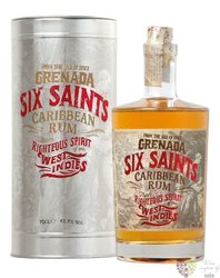 Six Saints metal box rum of Grenada 41.7% vol. 0.70 l