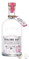 "Chalong bay "" Thai Sweet Basil "" Thailand Phuket infused white rum 40% vol.  0.70 l"