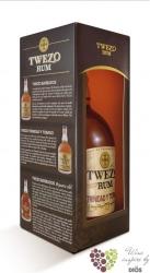 """Twezo """" Trinidad & Tobago """" aged rum by Maxime Trijol 40% vol. 0.70 l"""