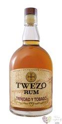 """Twezo """" Trinidad & Tobago """" aged rum by Maxime Trijol 40% vol. 0.05 l"""