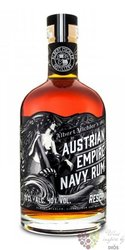 "Austrian Empire Navy "" Reserva 1863 "" aged rum of Barbados 40% vol.  0.70 l"