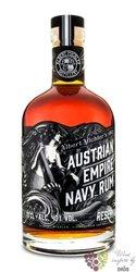 "Austrian Empire Navy "" Reserva 1863 "" aged rum of Barbados 40% vol.  0.05 l"