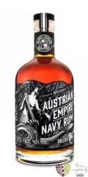 "Austrian Empire Navy "" Solera 21 "" aged rum of Barbados 40% vol.  0.70 l"