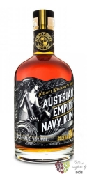 "Austrian Empire Navy "" Solera 25 "" aged rum of Barbados 40% vol.  0.70 l"