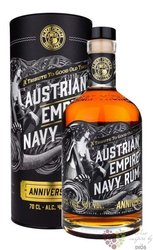 "Austrian Empire Navy "" Anniversary "" aged rum of Barbados 40% vol.  0.70 l"