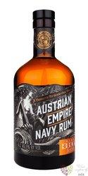 """Austrian Empire Navy """" Double cognac cask """" aged rum of Barbados 46,5% vol  0,70 l"""