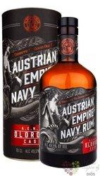 """Austrian Empire Navy """" Oloroso cask """" aged rum of Barbados 40% vol.  0.70 l"""