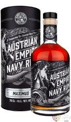 "Austrian Empire Navy "" Maximus "" aged rum of Barbados 40% vol.  0.70 l"