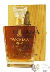 """Panama """"  Gran reserva especial """" aged 21 years Panamas rum 40% vol.  0.70 l"""