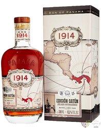 1914 Edicion Gatún aged Panamas rum 41.3% vol.  0.70 l