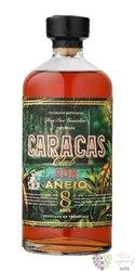 "Caracas Club "" Anejo "" aged 8 years Venezuelan rum 40% vol.  0.70 l"