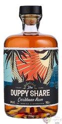 Duppy Share blended Caribbean rum 40% vol.  0.70 l