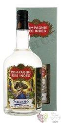 "Compagnie des Indes "" Tricorne "" aged caribbean rum 43% vol.  0.70 l"