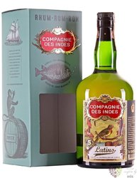 "Compagnie des Indes "" Latino "" aged 5 years rum 40% vol.  0.70 l"