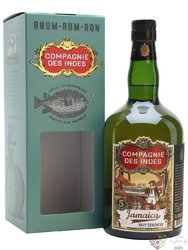 "Compagnie des Indes "" Jamaica "" aged 5 years rum 40% vol.  0.70 l"