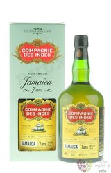"Compagnie des Indes "" Jamaica "" aged 7 years rum 53% vol. 0.70 l"