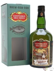 "Compagnie des Indes "" Jamaica Navy Strenght "" aged 5 years Jamaican rum 57% vol.  0.70 l"