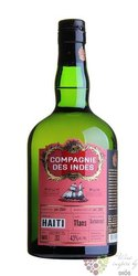 "Compagnie des Indes "" Haiti "" aged 11 years rum 43% vol.  0.70 l"