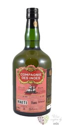 Compagnie des Indes 11 years aged rum of Haiti  59.4%  0.70 l