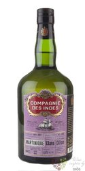 "Compagnie des Indes "" Martinique "" aged 13 years rum 44% vol.  0.70 l"