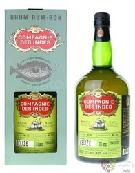 "Compagnie des Indes "" Belize "" aged 11 years caribbean rum 43% vol.  0.70 l"