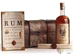 Pirates Grog 5 years ltd.treasure set aged rum of Honduras 37.5% vol.  0.70 l
