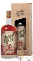 "Pirates Grog "" no.5 Golden "" aged rum of Honduras 37.5% vol.  0.70 l"
