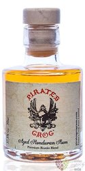 Pirates Grog 5 years aged rum of Honduras 37.5% vol.  0.05 l