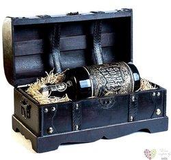 Pirates Grog no.13 - Single Batch ltd. treasure set aged rum of Honduras 40% vol.  0.70 l