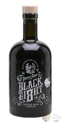 "Pirates grog "" Black ei8ht "" coffee flavored rum of Honduras 25% vol.  0.50 l"