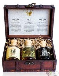 "Pirates Grog "" Tasting set "" aged rum of Honduras  3x0.05l"