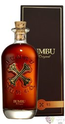 "Bumbu "" the Original Craft "" gift box artesanal spirits of Barbados 35% vol.  0.70 l"
