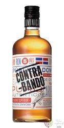Contra Bando aged Dominican rum 38% vol.  0.70 l