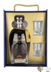 "Caňaveral "" Reserva especial "" glass pack rum of Dominican republic 40% vol.   0.70 l"