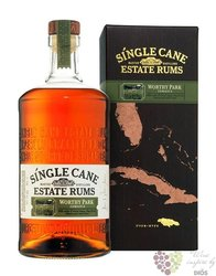 "Bacardi Single Cane Estate "" Worthy park "" aged Jamaican rum 40% vol. 1.00 l"