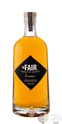 "Fair Trade "" Jamaica "" aged caribbean rum 40% vol.   0.70 l"