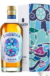 """Cihuatán """" Indigo """" aged 8 years el Salvador rum 40% vol.  0.70 l"""