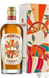 """Cihuatán """" Cinabrio """" gift box aged 12 years el Salvador rum 40% vol.  0.70 l"""
