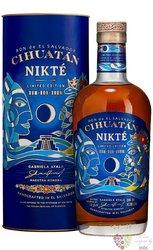 """Cihuatán """" Nikté ltd. 2019 """" aged el Salvador rum 47.5% vol.  0.70 l"""