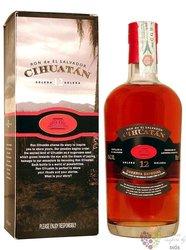 """Cihuatán """" Reserva Especial """" aged 12 years gift set el Salvador rum 40% vol. 0.70 l"""