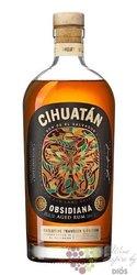 """Cihuatán """" Obsidiana """" aged el Salvador rum 40% vol.  1.00 l"""