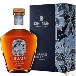 """Cihuatán """" Xaman XO """" aged el Salvador rum 40% vol.  0.70 l"""