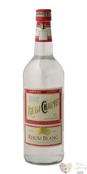 Chauvet blanc rum of Antiles 40% vol.  1.00 l