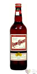 Chauvet dark rum of Antiles 40% vol.  1.00 l
